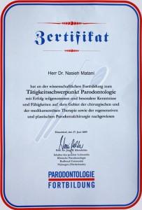 DGP zertifiziert und Mitglied